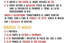 22/23 maggio: biciclettata No Tav, programma completo