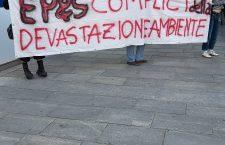 EP&S COMPLICI DELLA DEVASTAZIONE AMBIENTALE: BLITZ NO TAV ALLA SEDE DI TORINO
