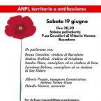 19/06: Anpi, territorio e antifasciscmo