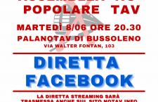 ASSEMBLEA POPOLARE NO TAV: DIRETTA FACEBOOK (video)