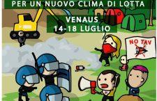 DAL 14 AL 18 LUGLIO CAMPO ECOLOGICO A VENAUS, PER UN NUOVO CLIMA DI LOTTA.