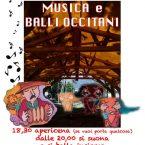 Tutti i martedì sera Apericena Condiviso e Danze Occitane  a San Didero