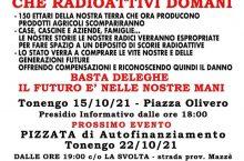 15/10 e 22/10: meglio attivi oggi che radioattivi domani!