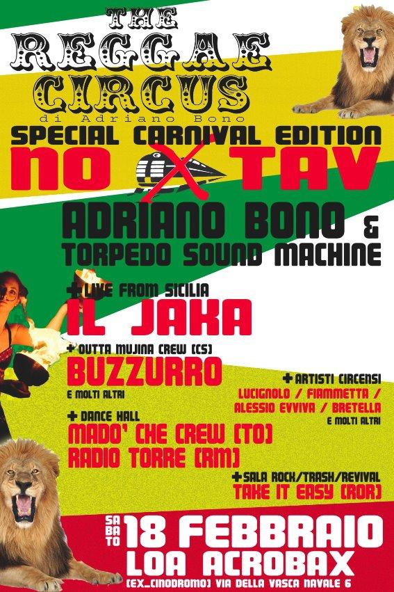 Roma @ LOA ACROBAX reggae connection NO TAV #1