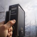 A Giaglione, il contatore segna un fondo naturale quasi normale, 550 colpi al secondo
