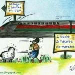 Marocco: manifestazioni di massa contro il treno ad alta velocità