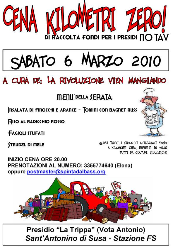 6/3 cena benefit presidio di S.Antonino