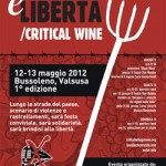 12/13 Maggio – Terra è Libertà /Critical Wine
