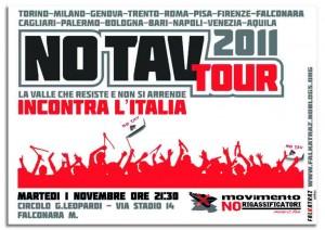 ANCORA NO TAV TOUR! ROMA – VENEZIA – SAN STINO LIVENZA – FALCONARA – L'AQUILA