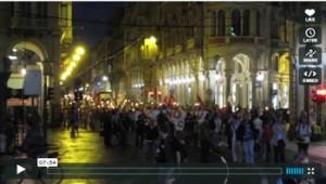 VIDEO Fiaccolata NoTAV (Torino, 8 luglio 2011)