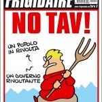 La copertina NO TAV di Frigidaire