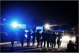 Solidarietà NOTAV con le popolazioni di Terzigno in lotta