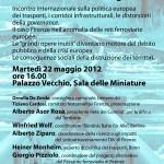 ESPERTI EUROPEI E MAESTRI DELLA CULTURA ITALIANA INVIANO UNA LETTERA APERTA AL GOVERNO ITALIANO E ALLE ISTITUZIONI TOSCANE