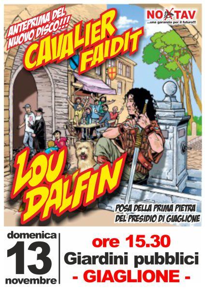 13/11 LOU DALFIN in concerto a Giaglione e PREPARAZIONE AL CONCERO ALLA BAITA CON MUSICA E POLENTA!