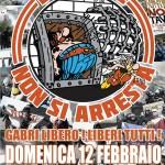 Corteo: Gabri libero! Liberi tutti i No TAV! GENOVA 12-02-2012 ore 15.00