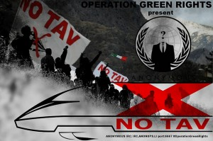 NO TAV : Anonymous is near you in the fight