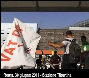 "NO TAV A ROMA ""RIPRENDIAMOCI LA MADDALENA"" GUARDA VIDEO"