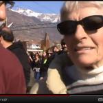 I familiari degli arrestati NOTAV alla manifestazione del 25 febbraio (VIDEO)