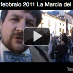 25 febbraio 2011 La Marcia dei No Tav