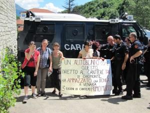 """PRIMO MORTO DELL'OPERAZIONE """"TALPA"""" BLINDATO DEI CC INVESTE PENSIONATA"""