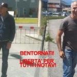 Il tribunale del riesame smentisce la procura: Giorgio e Luca ai domiciliari, alleviate le restrizioni per i notav