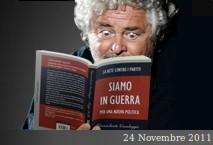 """Anche Grillo scrive a Monti """"…evitare l'inutile distruzione della val di Susa"""""""