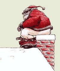 E' arrivato Babbo Natale al non-cantiere!