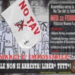 Fermarci e' impossibile! Assemblea verso il 25 febbraio No Tav