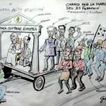CARRO NO TAV PER LA MARCIA DEL 25-02-2012