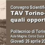 Le Relazioni del convegno scientifico av Torino Lione:quali opportunità e criticità