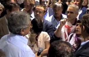 GUARDA VIDEO MASSIMO D'ALEMA CONTESTATO ALLA FESTA UNITA' A GORIZIA