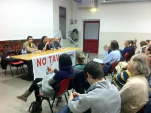 No Tav Tour a Falconara