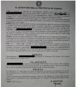 NON C'È DUE SENZA TRE: COMITATO DI LOTTA POPOLARE DI BUSSOLENO SOTTO ATTACCO