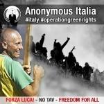 Val di Susa chiama, Anonymous risponde. Fuori uso i siti istituzionali del Piemonte