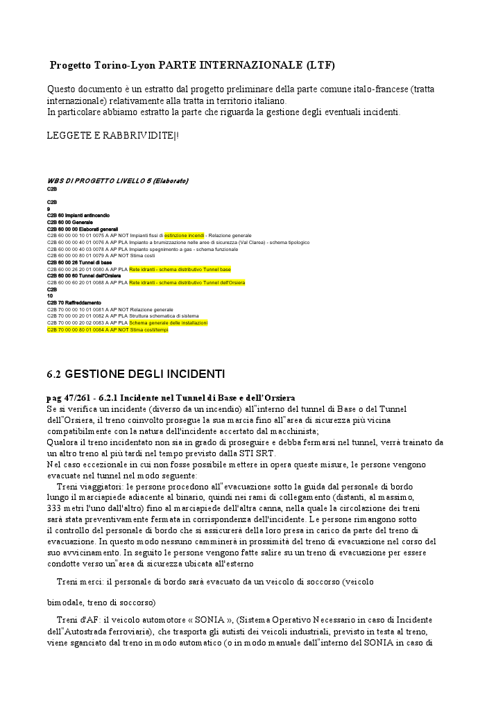 LA GALLERIA DEGLI ORRORI- FILE ORIGINALE PROGETTI LTF