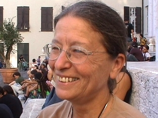 Heidi Giuliani alla Credenza di Bussoleno