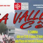 BUSSOLENO 21-02-2012 ASSEMBLEA POPOLARE NO TAV VERSO IL CORTEO DI SABATO 25