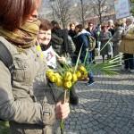 Donne No tav per l'8 marzo.Un mazzo di lacrimogeni al sindaco di Susa (FOTO E VIDEO)