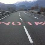 Blocco dell'autostrada per rimarcare che la Valle non si arrende