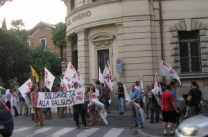 NO TAV Buona riuscita del presidio di Udine