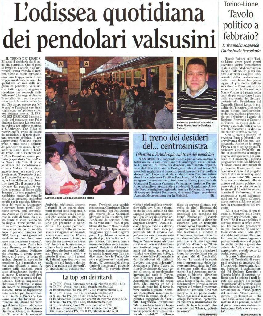 LA VALSUSA 3 febbraio 2011
