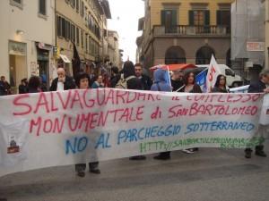 24-3 PISTOIA MANIFESTAZIONE NO TAV di Antonio Ginetti
