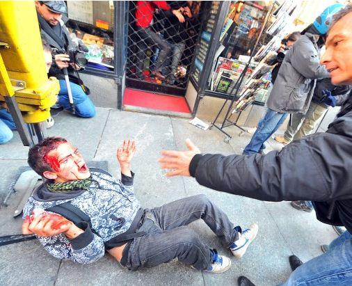 Polizia scatenata contro gli studenti a Torino