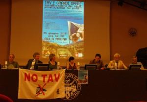 Successo dell'iniziativa NOTAV al Politecnico, il resoconto
