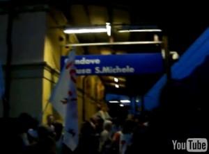 NO TAV BLOCCANO TGV IN DIRETTA DALLA STAZIONE DI CONDOVE (guarda video)