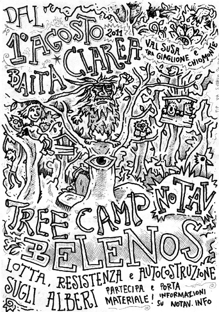TREE CAMP BELENOS + CALENDARIO INIZIATIVE