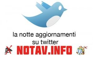 Segui gli aggiornamenti su twitter