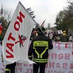 I vigili del fuoco alla manifestazione notav del 23 marzo!
