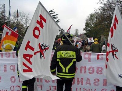 La lotta paga! I Vigili del fuoco lasciano il fortino